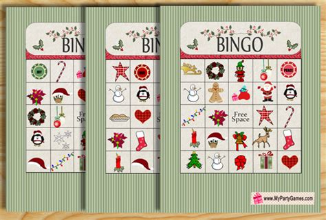 Maybe you would like to learn more about one of these? Free Printable Christmas Bingo