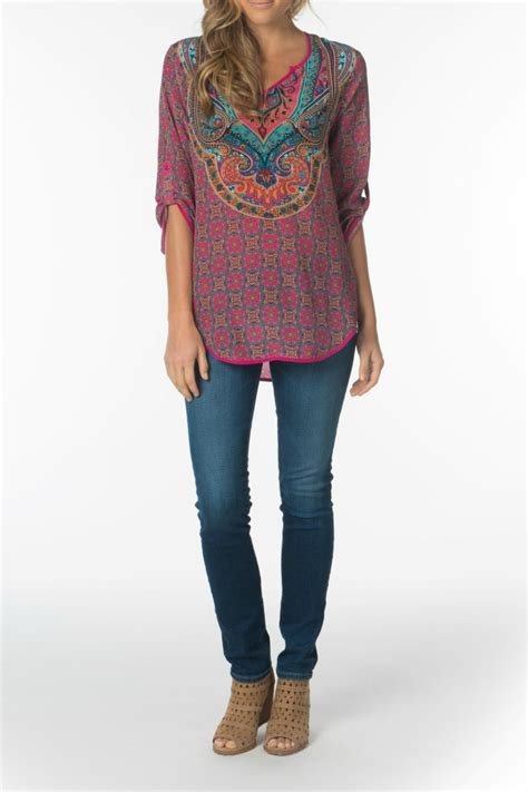 fuschia blouse tolani molly fuschia blouse from dallas by hip chic
