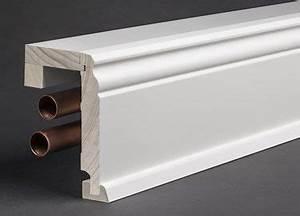 Sockelleisten Holz Weiß : rohrabdeckleisten und sockelleisten f r heizungsrohre in vielen verschiedenen varianten und ~ Watch28wear.com Haus und Dekorationen