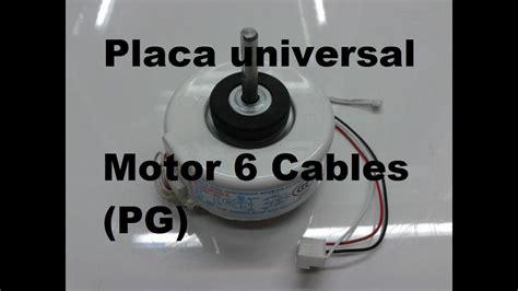 placa universal aire acondicionado split como conectar motor