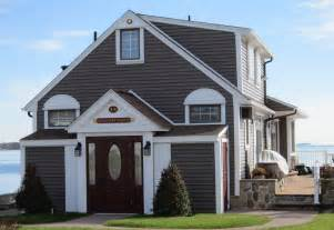 Sable Brown Vinyl Siding Colors Houses