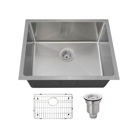 14 stainless steel kitchen sink mr direct all in one undermount stainless steel 23 in 8964