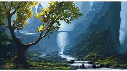 4k Nature Fantasy Wallpapers Natural Landscape Scenery