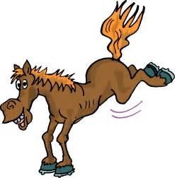 Cartoon Horse Kicking