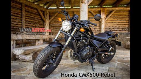 Honda CMX500 Rebel Test Motolevel.com