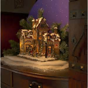 konstsmide festive fibre optic village scene konstsmide from castlegate lights uk