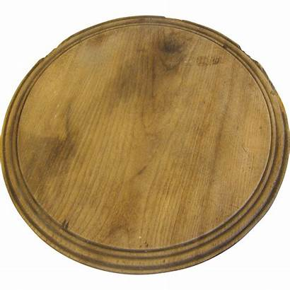 Bread Board Wooden Round Antique Decorative