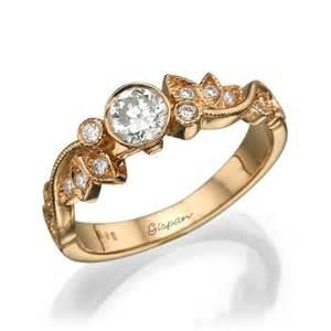 deco vintage engagement rings leaf engagement ring ring wedding ring deco ring vintage ring gold