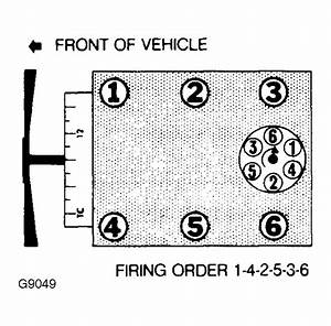 What Is The Firing Order For The 3 0l V6 1993 Aerostar