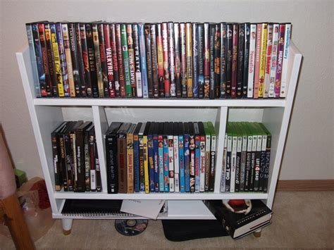 build a dvd cabinet 17 unique and stylish cd and dvd storage ideas for small