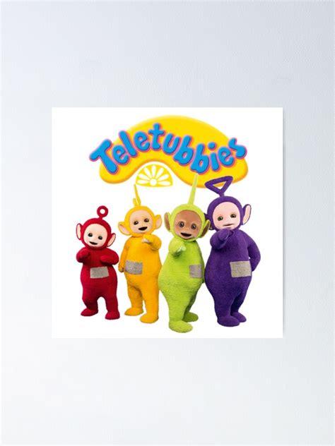 Poster Teletubbies Tinky Winky Dipsy Laa Laa Po Par