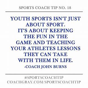 Youth Sports Qu... Value Of Youth Quotes