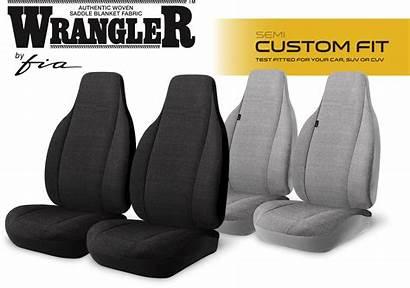 Seat Solid Covers Custom Series Wrangler