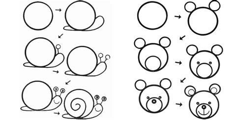 desenhos faceis de desenhar passo  passo facil de