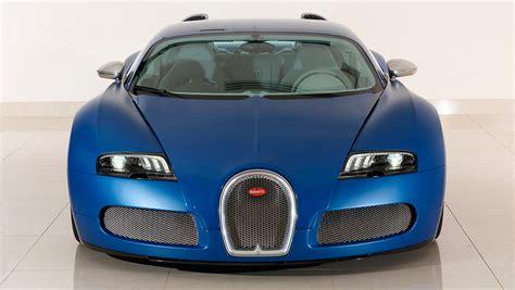 A La Venta Un Excepcional Bugatti Veyron 'bleu Centenaire