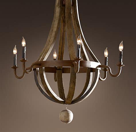 barrel chandelier lighting wine barrel chandelier 32 quot