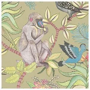 Papier Peint Cole And Son : papier peint savuti une flore et une faune africaine ~ Dailycaller-alerts.com Idées de Décoration