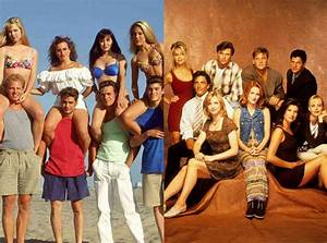 beverly 90210 vs place from show vs