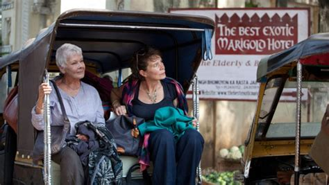 exotic marigold hotel honored  showcasing india