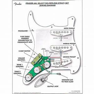 Genuine Fender American Select Solderless Stratocaster