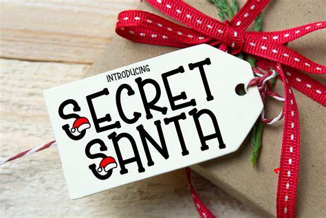 secret santa fonts creative market