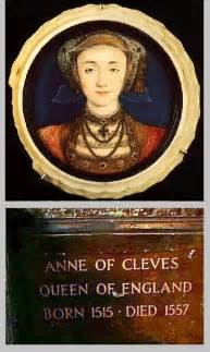 Anne of Cleves Tomb in Westminster Abbey