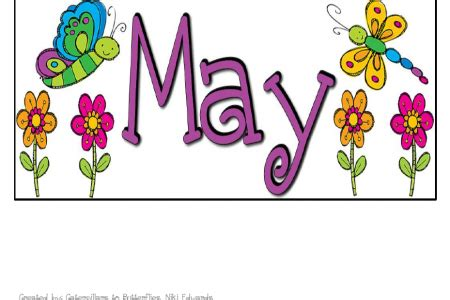 May Clip Monthly Calendar Clipart May Clipground