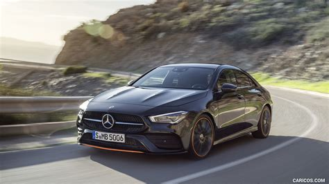To get more information about the model go to mercedes benz cla. 2020 Mercedes-Benz CLA 250 Coupe Edition Orange Art AMG Line (Color: Cosmos Black) - Front Three ...