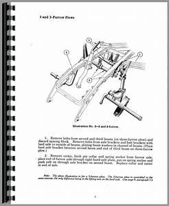 International Harvester 8 Plow Operators Manual