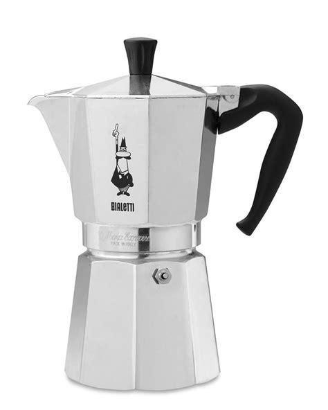 bialetti moka express  cup espresso maker williams
