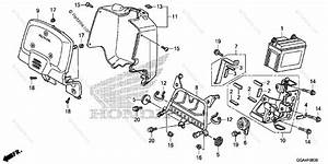 Honda Scooter 2017 Oem Parts Diagram For Front Cover
