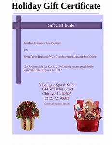 Free Certificate Template 2018 Gift Certificate Form Fillable Printable PDF Forms Handypdf