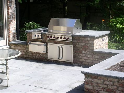 Outdoor Patio Grill Station