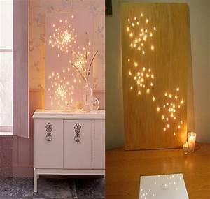 Diy wall decor lighting original with