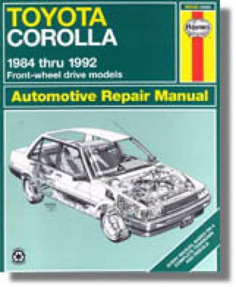 what is the best auto repair manual 1992 mercedes benz 300se head up display haynes toyota corolla 1984 1992 auto repair manual