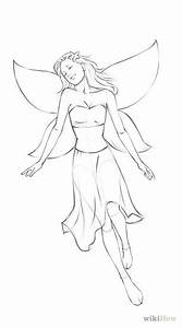 easy pencil drawings of fairies for beginners - By Terry Kyle