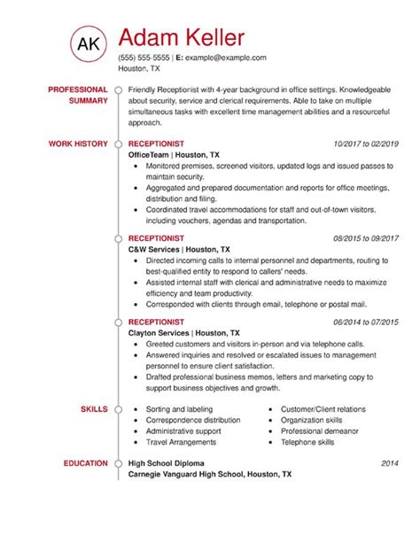 Great Chronological Resume by The 3 Resume Formats A Guide On Which Format To Use When