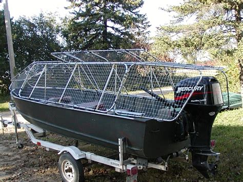 Duck Blind On Boat by Skybuster Duck Boat Blinds