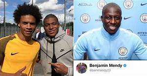 Benjamin Mendy reacts hilariously to Mbappe's picture with ...