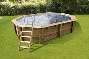 Liner Pour Piscine Hors Sol : liner gris pour piscine bois bahia 5 50 x m h 1 20 ~ Premium-room.com Idées de Décoration