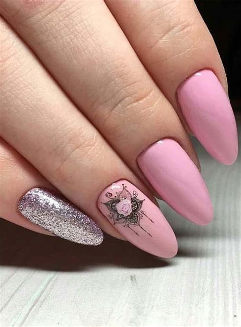 grate ideas  pink nails  ladies  year  stylesmod