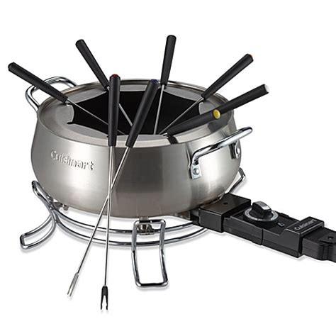 cuisinart 174 3 qt electric fondue set bed bath beyond