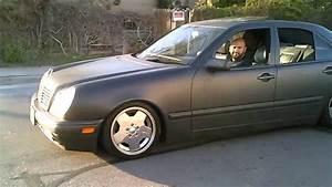 1997 Mercedez Benz E420 Dropped On 17 U0026quot  Amg Wheels Gettin