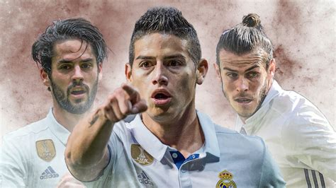 Real Madrid's James Rodriguez, Gareth Bale and Isco stats ...