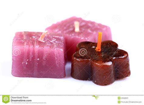 candele fatte a mano candele fatte a mano della stazione termale immagine stock