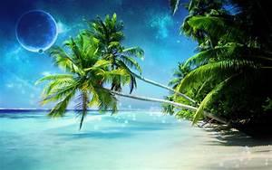 3D Wallpaper Widescreen High Resolution Beach Widescreen 2 ...