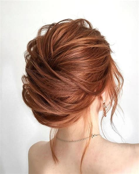 this gorgeous messy french chignon wedding hairstyle will