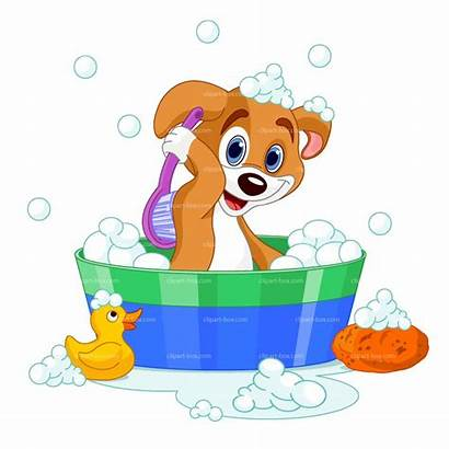 Wet Dog Dry Clipart Grooming