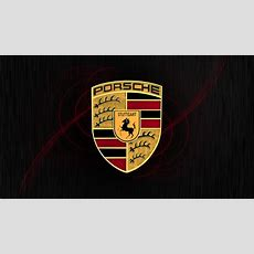 Porsche Logo Wallpaper Wallpapersafari