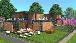 Maison En Bois En Kit Tarif : emejing maison moderne bois en kit images design trends ~ Premium-room.com Idées de Décoration